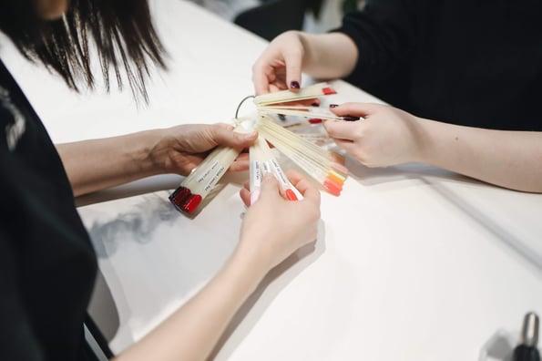 manicure - servicios salon de peluqueria